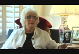 Still frame from: Interview with Mrs. Marie Pauerstein (wife of Founding Faculty, Dr. Carl J. Pauerstein)