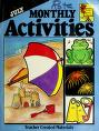 Cover of: July Monthly Activities (Monthly Activities Series)