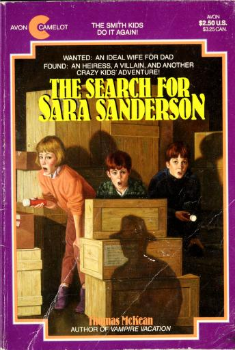 Cover of: The search for Sara Sanderson | Thomas McKean