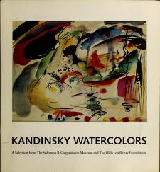Kandinsky watercolors by Solomon R. Guggenheim Museum.